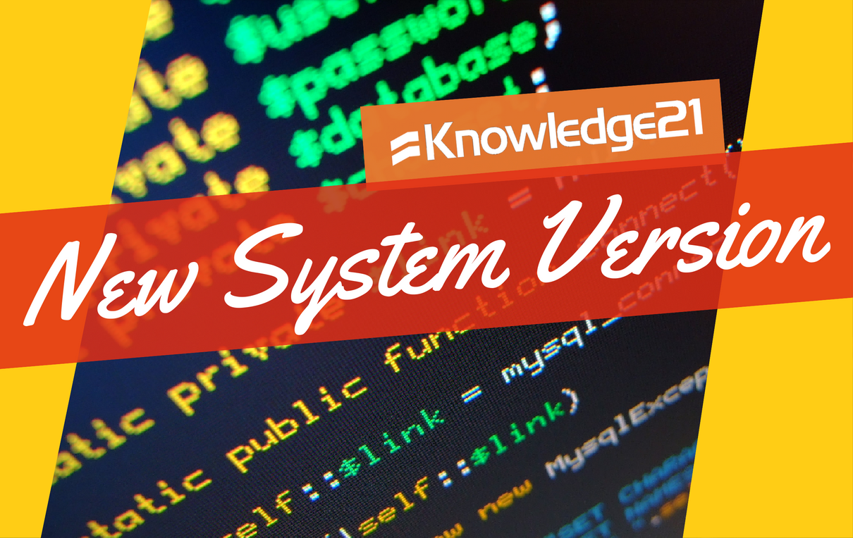 New System Version