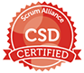 CSD Badge - Agile Training