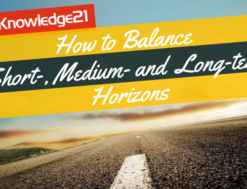 How to Balance Short-, Medium- and Long-term Horizons