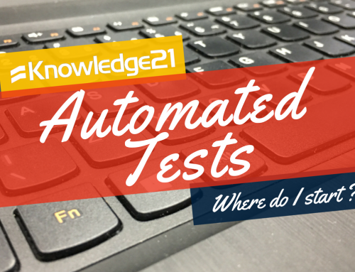 Automated tests? Where do I start?
