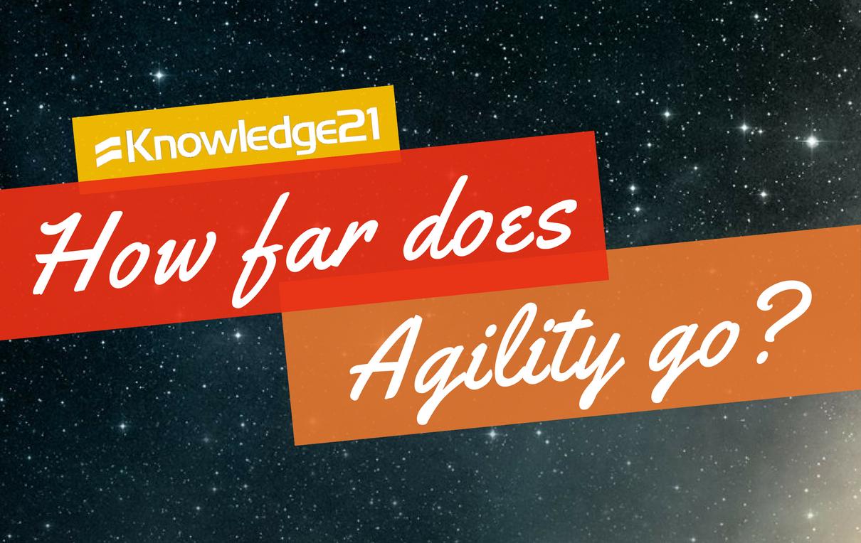 How far does Agility go?