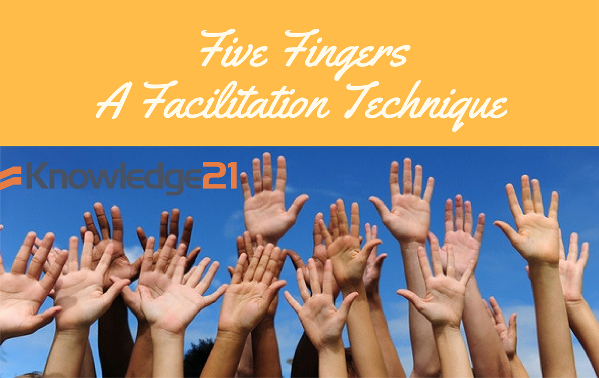 Five Fingers: A Facilitation Technique