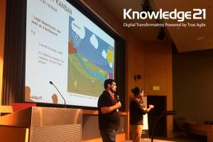 Knowledge21 at Lean Kanban Week North America 2018