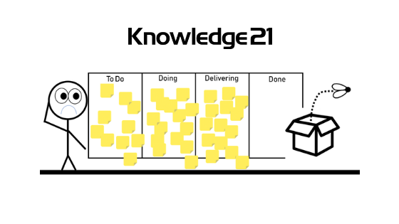 Knowledge21-Transforming task team into product team