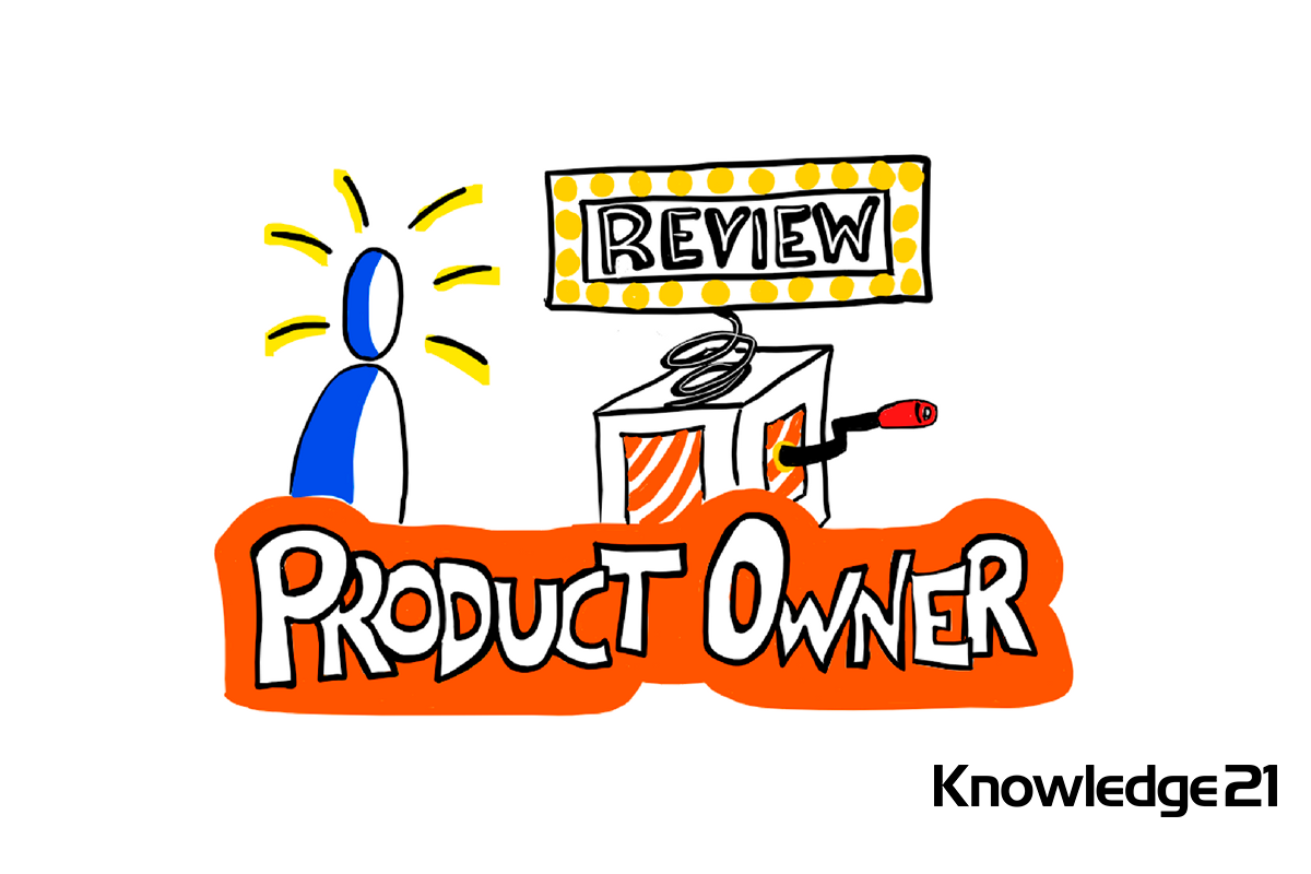 Product Owner sorpreso en la Review