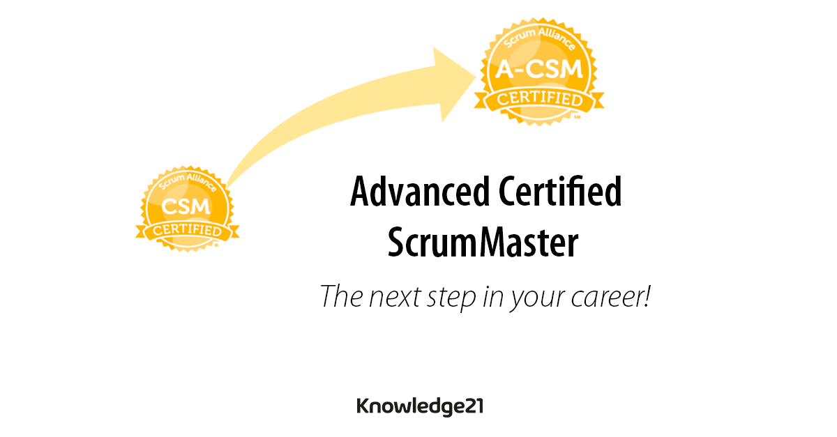 Advanced Certified ScrumMaster