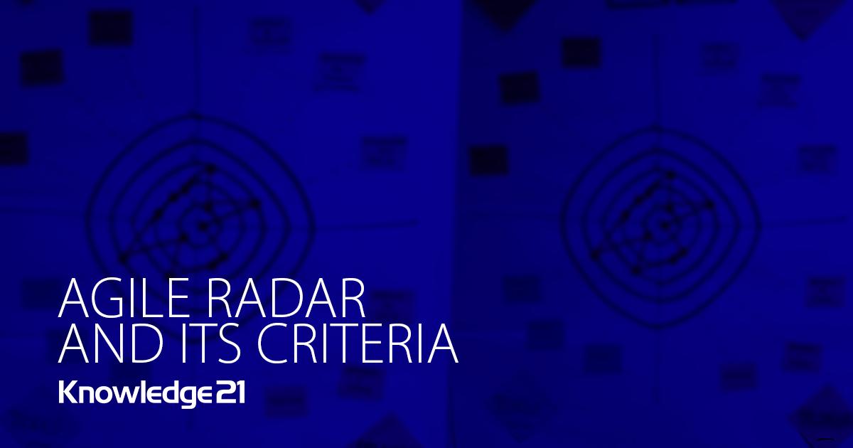 Agile Radar